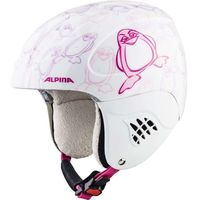 Kaski i gogle, ALPINA CARAT PINGUIN - kask narciarski R. 54-58 cm