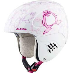 ALPINA CARAT PINGUIN - kask narciarski R. 51-55 cm