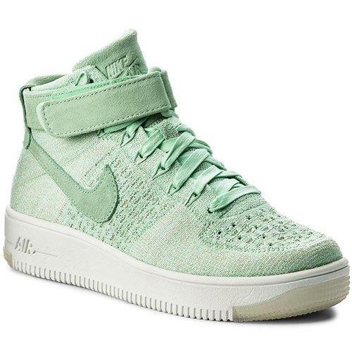 Półbuty damskie, Buty NIKE - W Nike Af1 Flyknit 818018 301 Enamel Green/Enamel Green