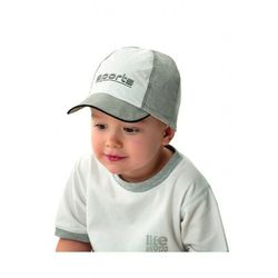 Czapka chłopięca z daszkiem szara 1X40AT Oferta ważna tylko do 2031-05-19