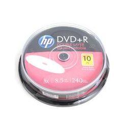 Płyta DVD+R Hewlett-Packard 8.5GB Cake 10szt. - InkJet Printable