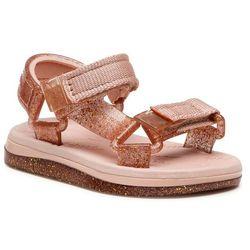 Sandały MELISSA - Mini Melissa Papete + Rider Bb 32972 Pink/Pink Glitter 53328