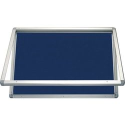 Gablota informacyjna 2x3 model 1 – zewnętrzna wodoszczelna tekstylna 6xA4(75x70cm) - pozioma