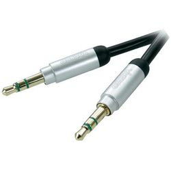 Kabel VIVANCO Jack 3.5 mm wtyk - 3.5 mm wtyk 0.3 m