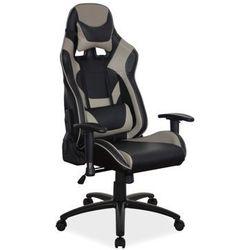 Fotel Signal SUPRA gamingowy czarny/szary, obciążenie do 140 kg! - ZŁAP RABAT: KOD70