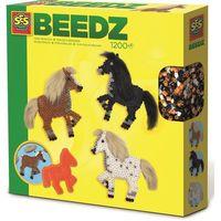 Kreatywne dla dzieci, Koralikowe prasowanki: Koń z miękką grzywą i ogonem