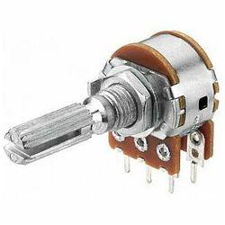 MONACOR VRB-101S100 Potencjometr liniowy stereo, 100kΩ