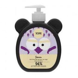 Yope, naturalne mydło dla dzieci, Jaśmin, 400ml