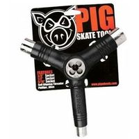 Pozostały skating, narzędzia PIG WHEELS - Tri-Socket Threader Tool Black (BLACK) rozmiar: OS