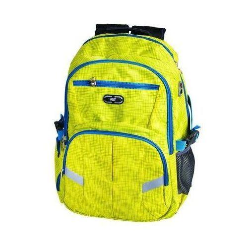 Tornistry i plecaki szkolne, Plecak szkolno-sportowy SPOKEY 837995 Żółty