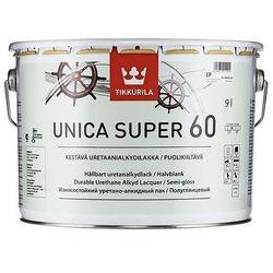 TIKKURILA UNICA SUPER [60]- uretanowy, półpołysk lakier do drewna, 9 l ()