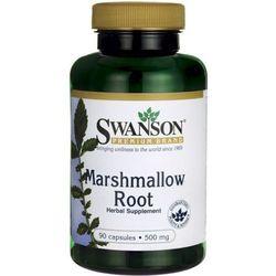 Prawoślaz lekarski Marshmallow Root 500mg 90 kapsułek SWANSON