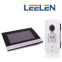"""Leelen LEELEN Wideodomofon 7"""" N75B/No15pc/DIN+3xbrelok (z czytnikiem) N75B_No15pc_DIN - Autoryzowany partner Leelen, Automatyczne rabaty."""