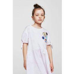 Mango Kids - Sukienka dziecięca Vibes 110-164 cm