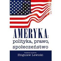 Ameryka: polityka, prawo, społeczeństwo - Wysyłka od 3,99 - porównuj ceny z wysyłką (opr. miękka)