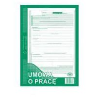 Pozostałe artykuły papiernicze, Umowa o pracę A4 500-1