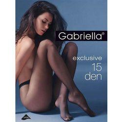 Rajstopy Gabriella Exclusive 15 den grafit/odc.szarego - grafit/odc.szarego