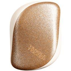 Tangle Teezer COMPACT STYLER Szczotka do każdego rodzaju włosów (GLITTER GOLD)