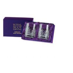 Royal Scot Crystal Szklanki Highland do Whisky 330ml 2szt Pres.B
