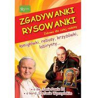 Książki dla dzieci, Zgadywanki Rysowanki św. Jan Paweł II i kardynał Stefan Wyszyński (opr. broszurowa)