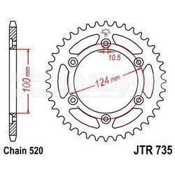 Zębatka tylna stalowa JT 735-41, 41Z, rozmiar 520 2301077 Ducati Supersport 900