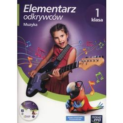 Elementarz odkrywców 1 Muzyka + CD - Monika Gromek, Grażyna Kilbach (opr. miękka)