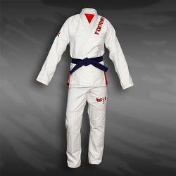 kimono damskie do BJJ / ju-jitsu VALKYRIE, białe, 420g/m2 / 12oz