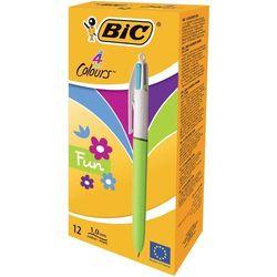 Długopis 4 Colours Fashion (12szt) BIC