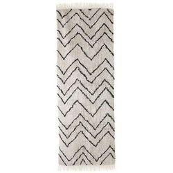 HK Living:: Dywan zigzag bawełniany (75x220)