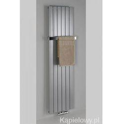 COLONNA grzejnik łazienkowy 298x1800mm stalowy metaliczny srebrny 614W IR143