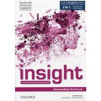 Książki do nauki języka, Insight Intermediate Workbook with Online Practice 2019 - książka (opr. broszurowa)