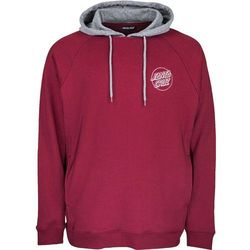 bluza SANTA CRUZ - Split Hood Port/Dark Heather (PORT-DARK HEATHER) rozmiar: XL