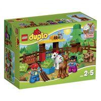 Klocki dla dzieci, Lego DUPLO Duplo leśne zwierzę 10582 10582