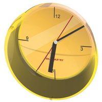 Zegary, Bugatti - Glamour zegar ścienny, żółty