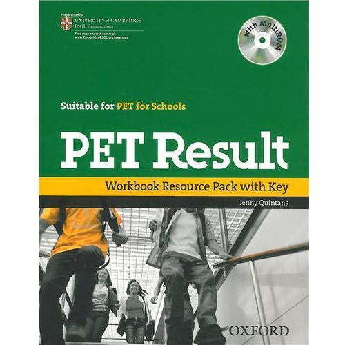 Książki do nauki języka, PET result Workbook Resource Pack with key+Cd (opr. miękka)