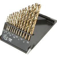 Wiertła, Zestaw wierteł do metalu GRAPHITE 57H198 HSS-TiN 1.5 - 6.5 mm (13 elementów)