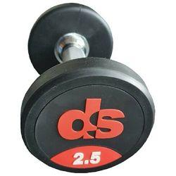 Hantel ogumowany DS 25 kg