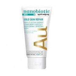 NANOBIOTIC Gold Skin Repair MED Krem ze złotem łagodzący podrażnienia i oparzenia skóry zapewniający regenerację i ochronę antybakteryjną 50ml