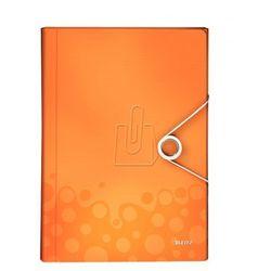 Teczka z 6 przegródkami Leitz Wow pomarańczowa 45890044