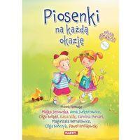 Literatura młodzieżowa, Piosenki na każdą okazję + CD. (opr. twarda)