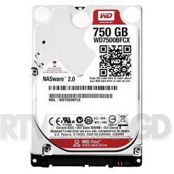 """WD WD7500BFCX Red 750GB 2,5"""" - produkt w magazynie - szybka wysyłka!"""