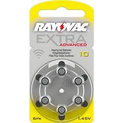 6 x baterie do aparatów słuchowych Rayovac Extra Advanced 10 MF