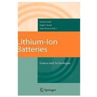 Książki do nauki języka, Lithium-ion Batteries (opr. twarda)