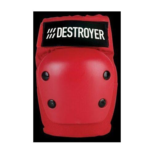 Ochraniacze na ciało, ochraniacze na łokcie DESTROYER - Rec Elbow Red (RED)