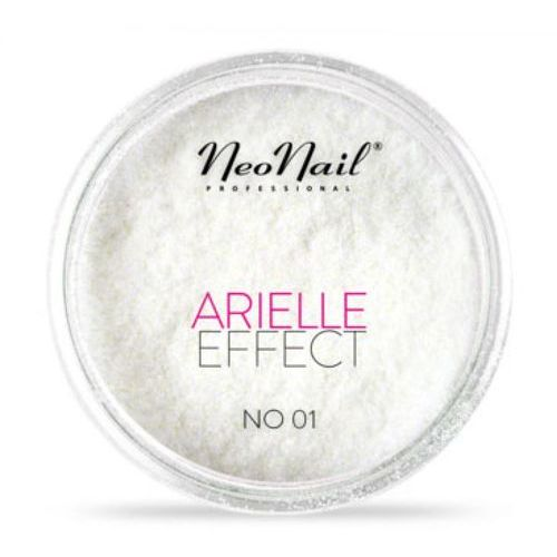 Ozdoby na paznokcie, NeoNail ARIELLE EFFECT Pyłek No 01 - LILAC