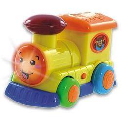 SMILY Pojazdy Sterowane Lokomotywaz kierownicą