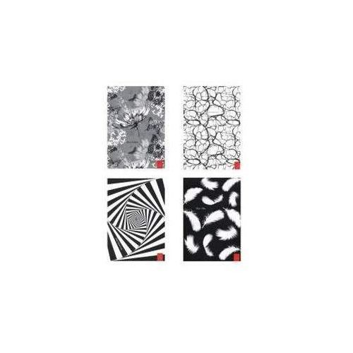 Zeszyty, Brulion A5/96 kartek w linie Czarno-biały
