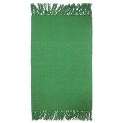 Dywanik 50 x 80 cm zielony