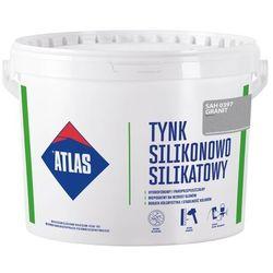 Tynk silikonowo-silikatowy Atlas granit 25 kg
