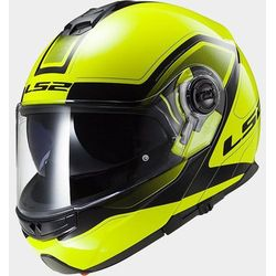 KASK LS2 FF325 STROBE CIVIK HI-VIS YELLOW/BLACK